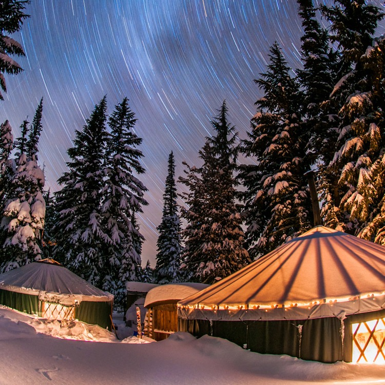 10 Awesome Yurts for Winter Adventure