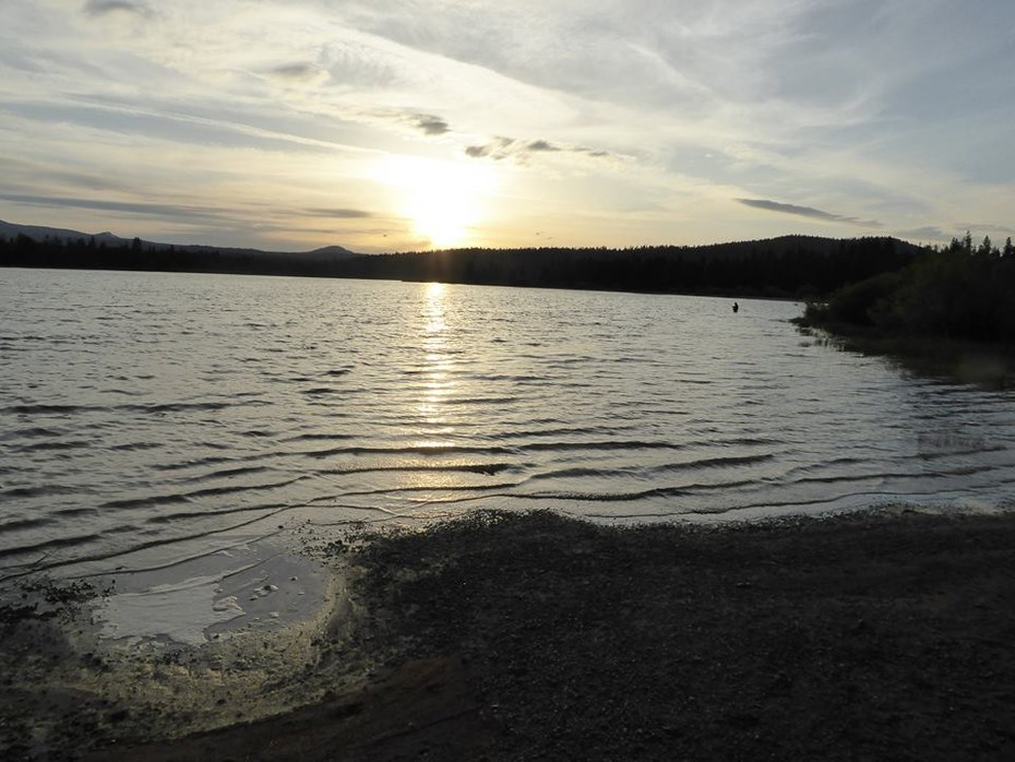 West south twin campground outdoor project for Wickiup reservoir fishing