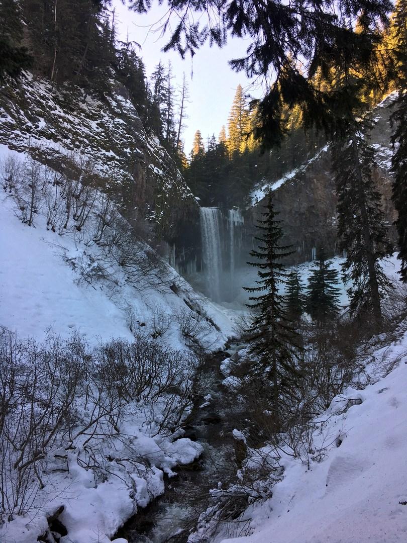Tamanawas Falls Snowshoe Outdoor Project