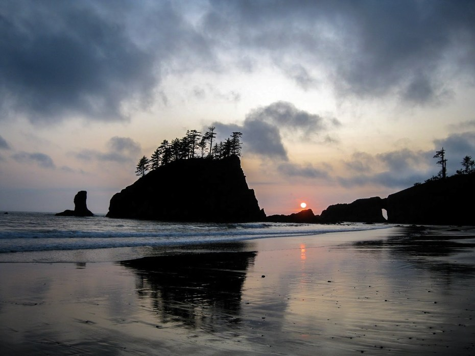 Snag A Camping Permit And Witness Sunset At Second Beach La Push