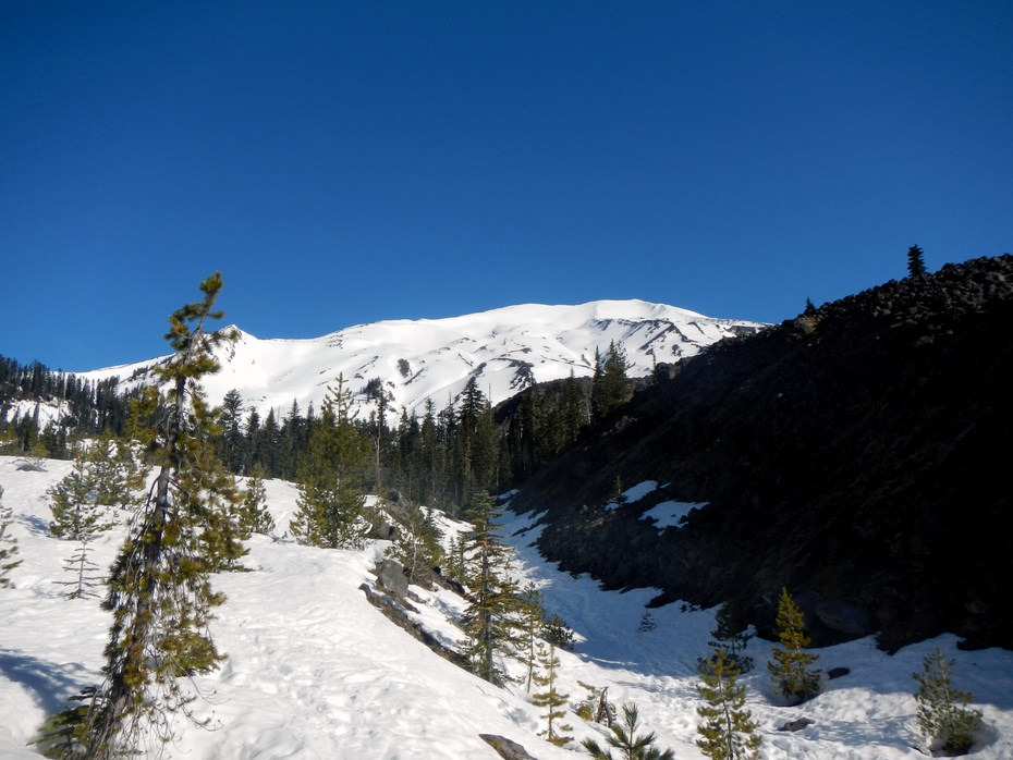 Mount St Helens Worm Flows Backcountry Ski Outdoor Project