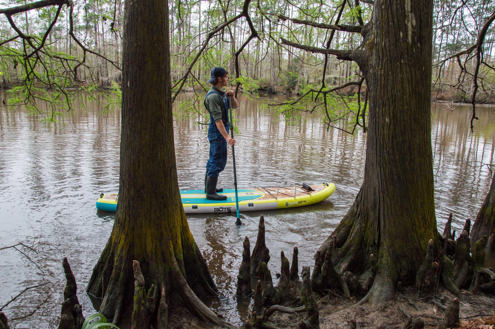 Sam Houston Jones State Park Paddling Sam