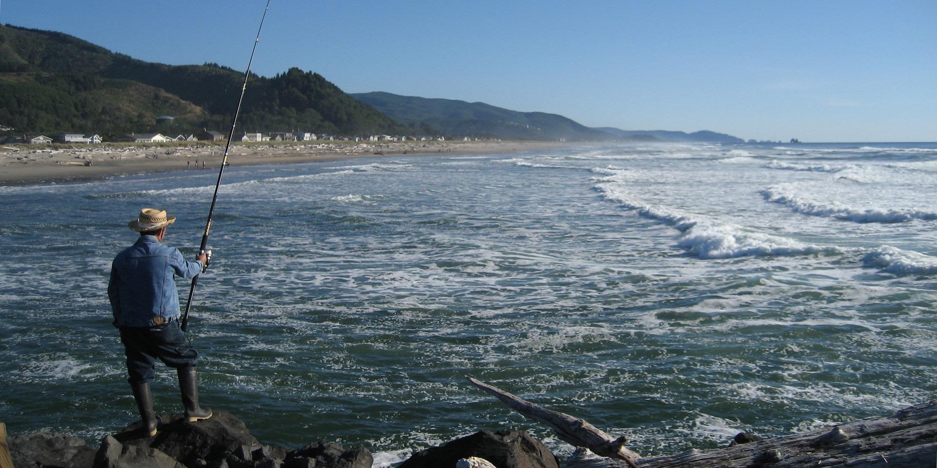 Fishing Rockaway Beach Oregon The Best Beaches In World