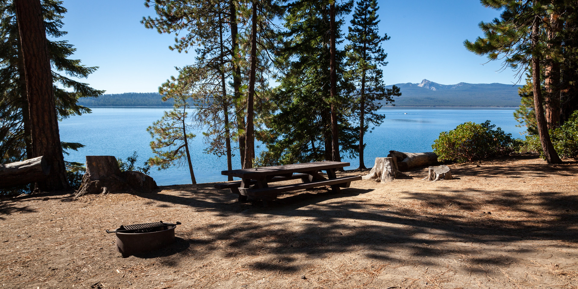 Crescent Lake Campground Outdoor Project