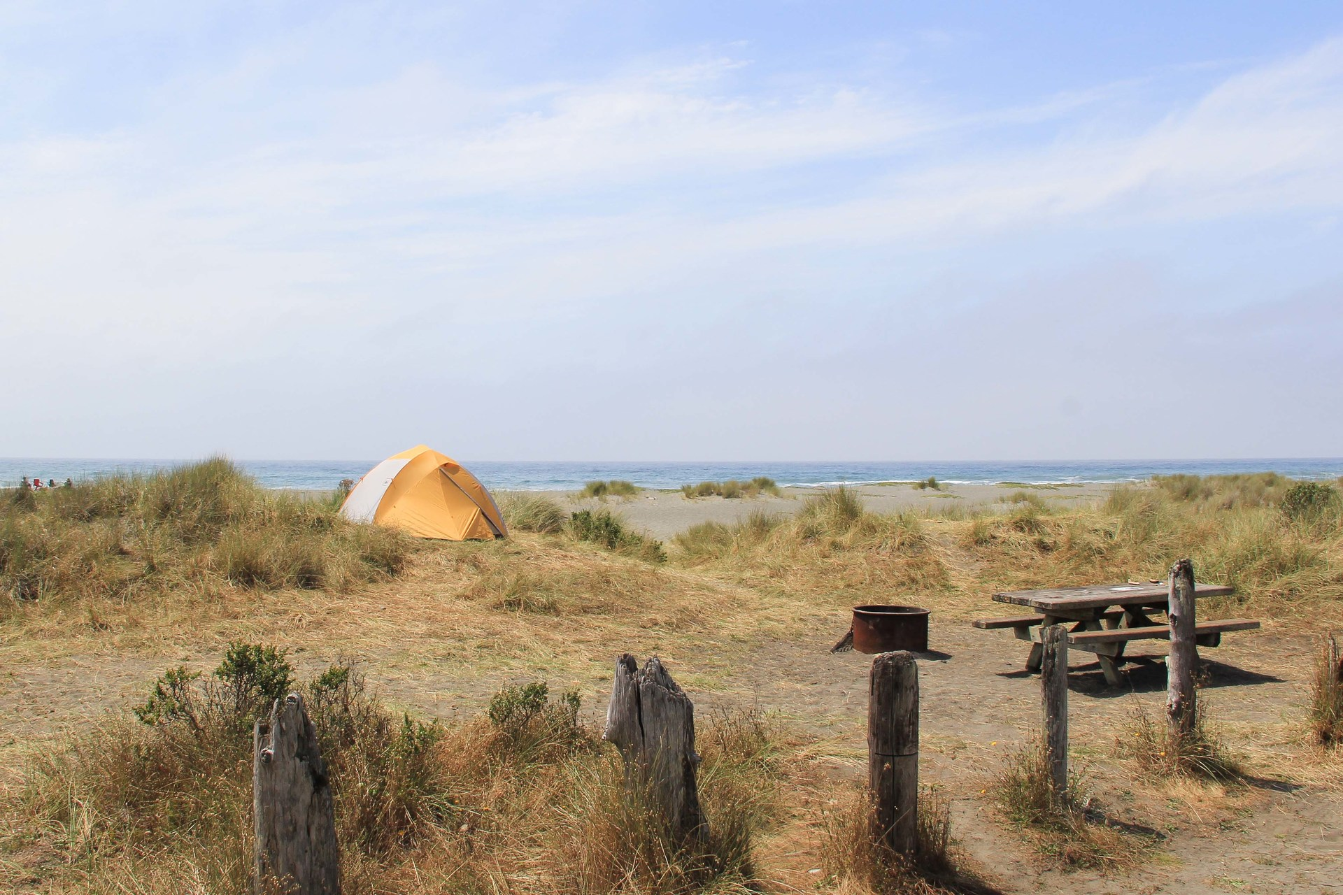Gold Bluffs Beach Campground