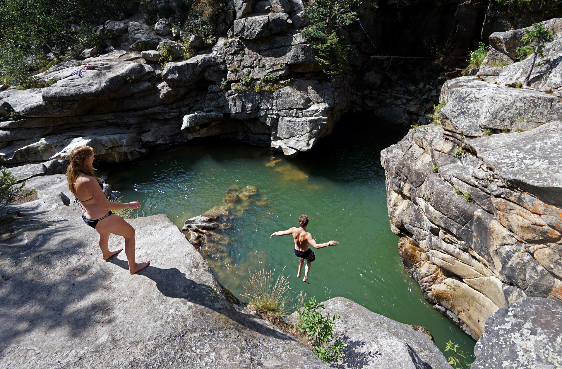 devils punchbowl swimming hole | outdoor project