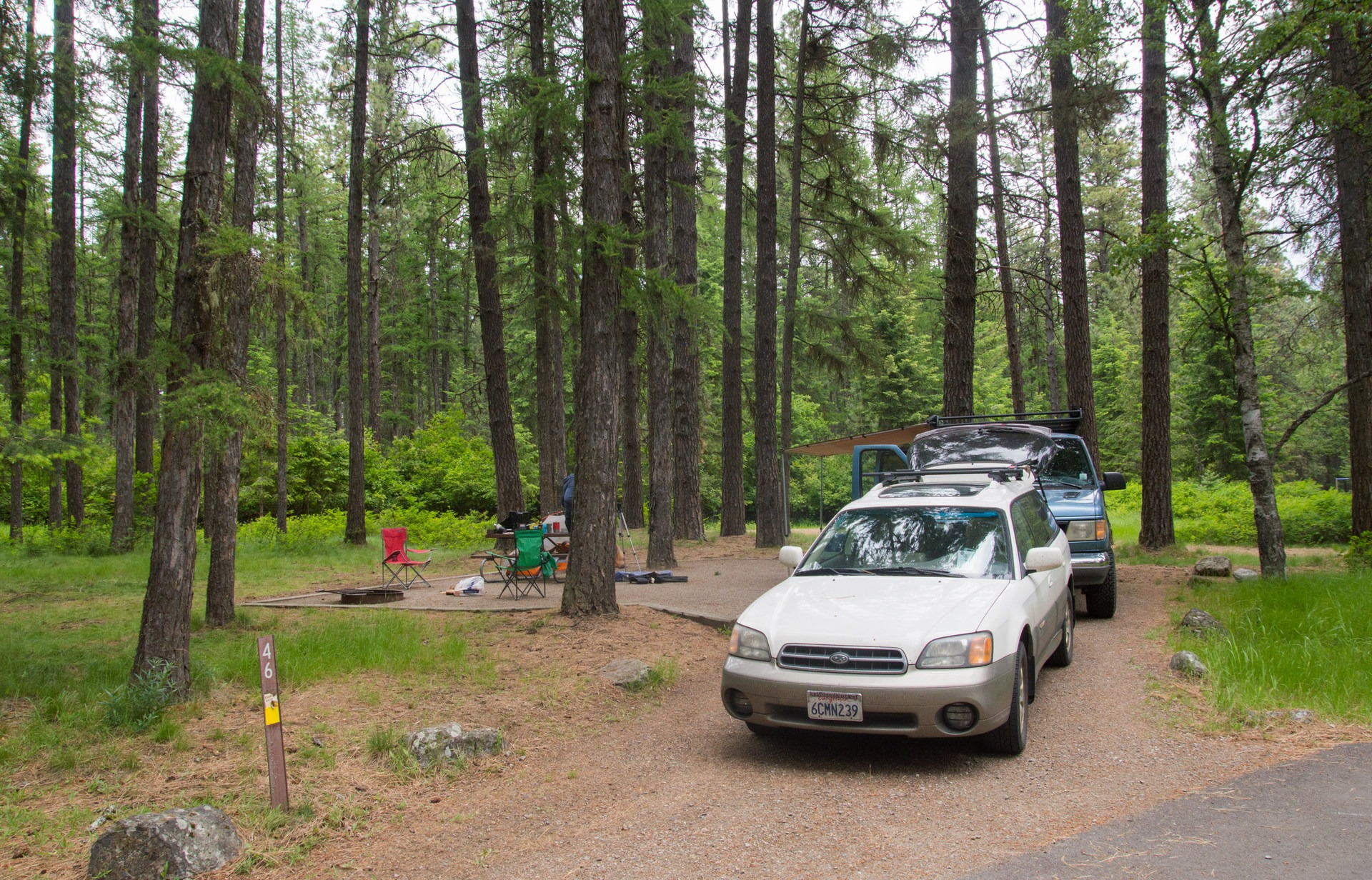Farragut State Park Camping