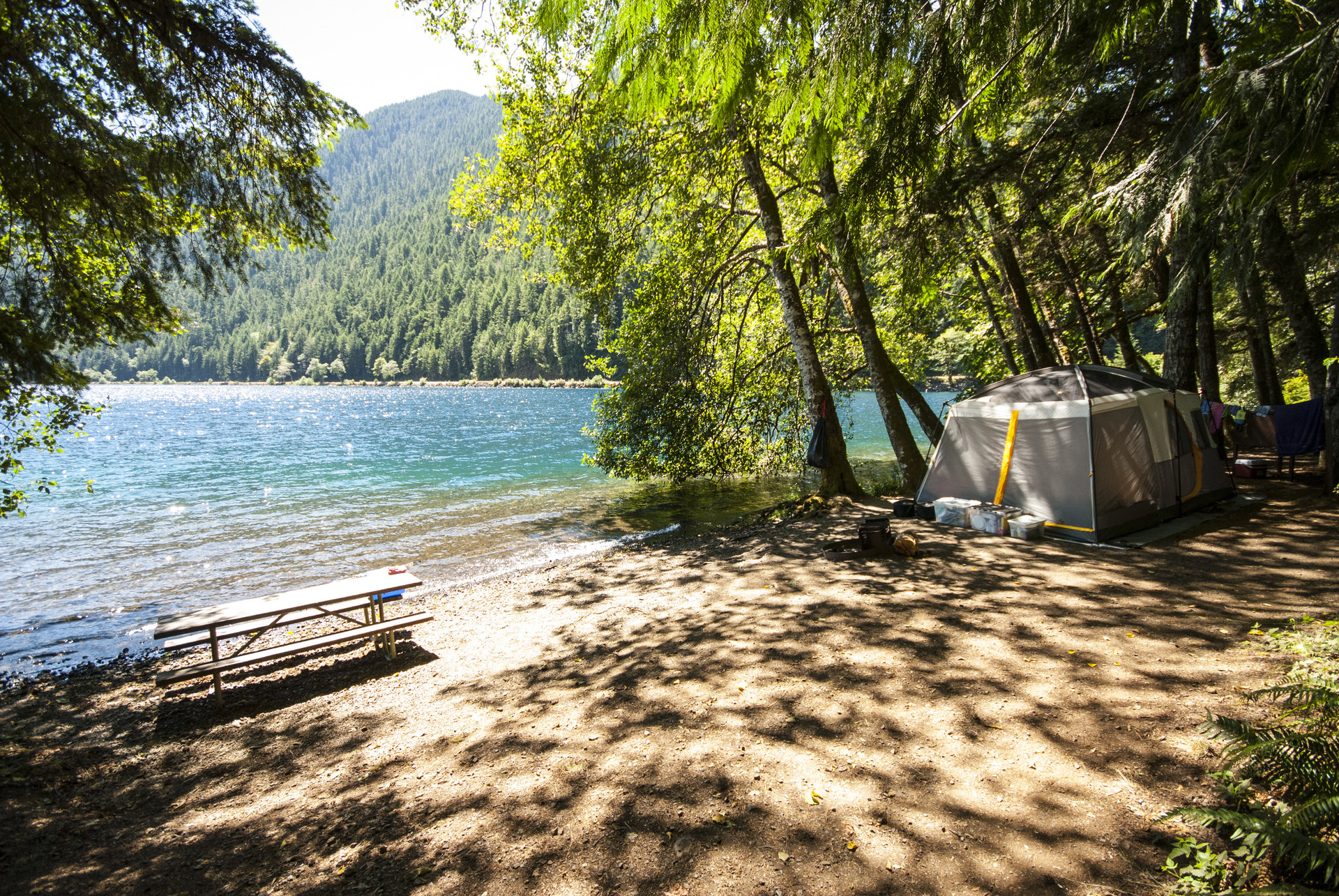 Lake crescent fairholme campground outdoor project for Washington state park cabins