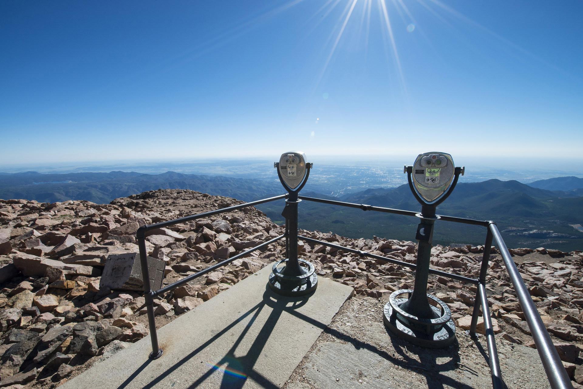pikes peak summit highway outdoor project