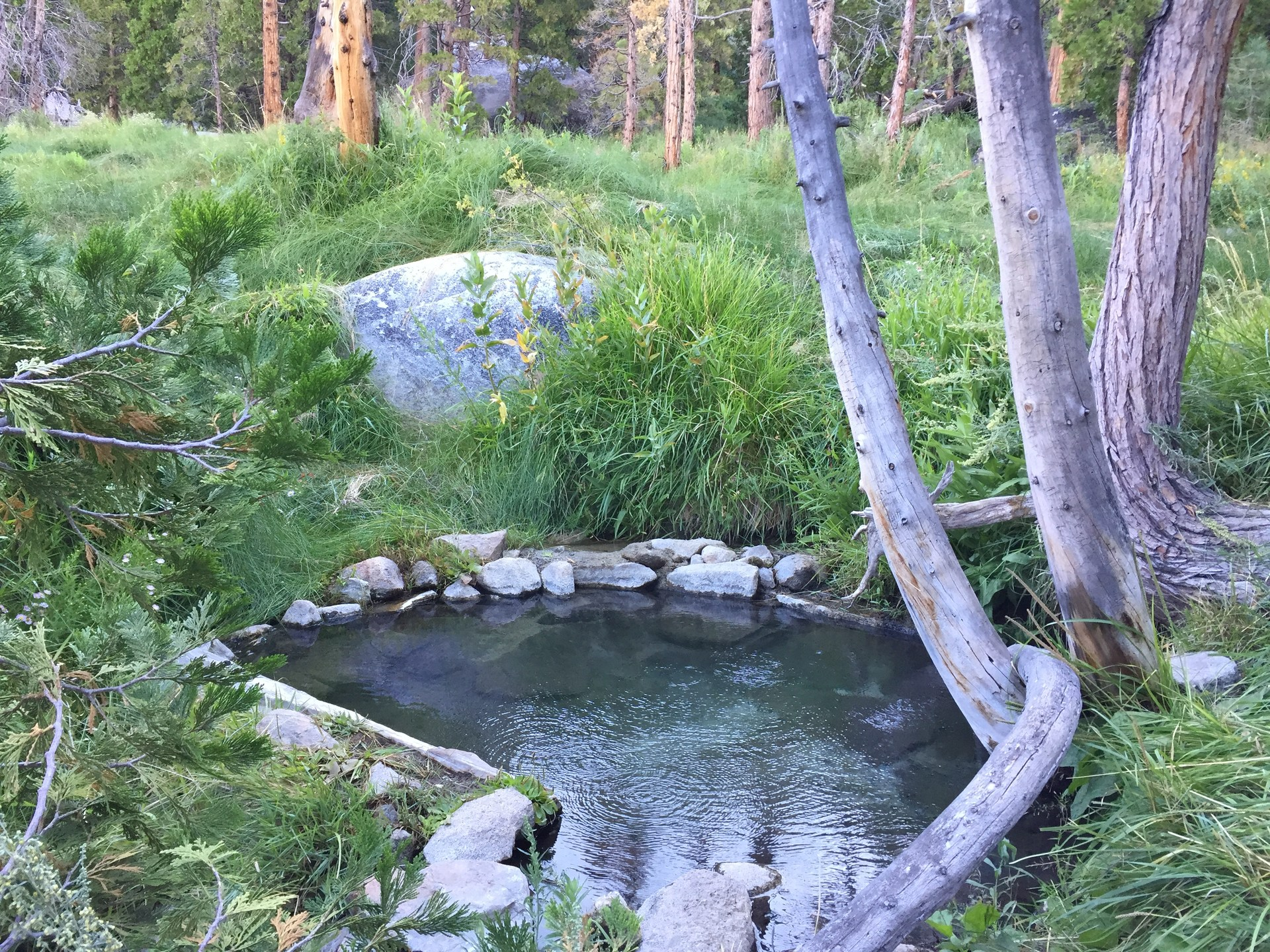 Iva Bell Hot Springs Via Fish Creek Trail Outdoor Project