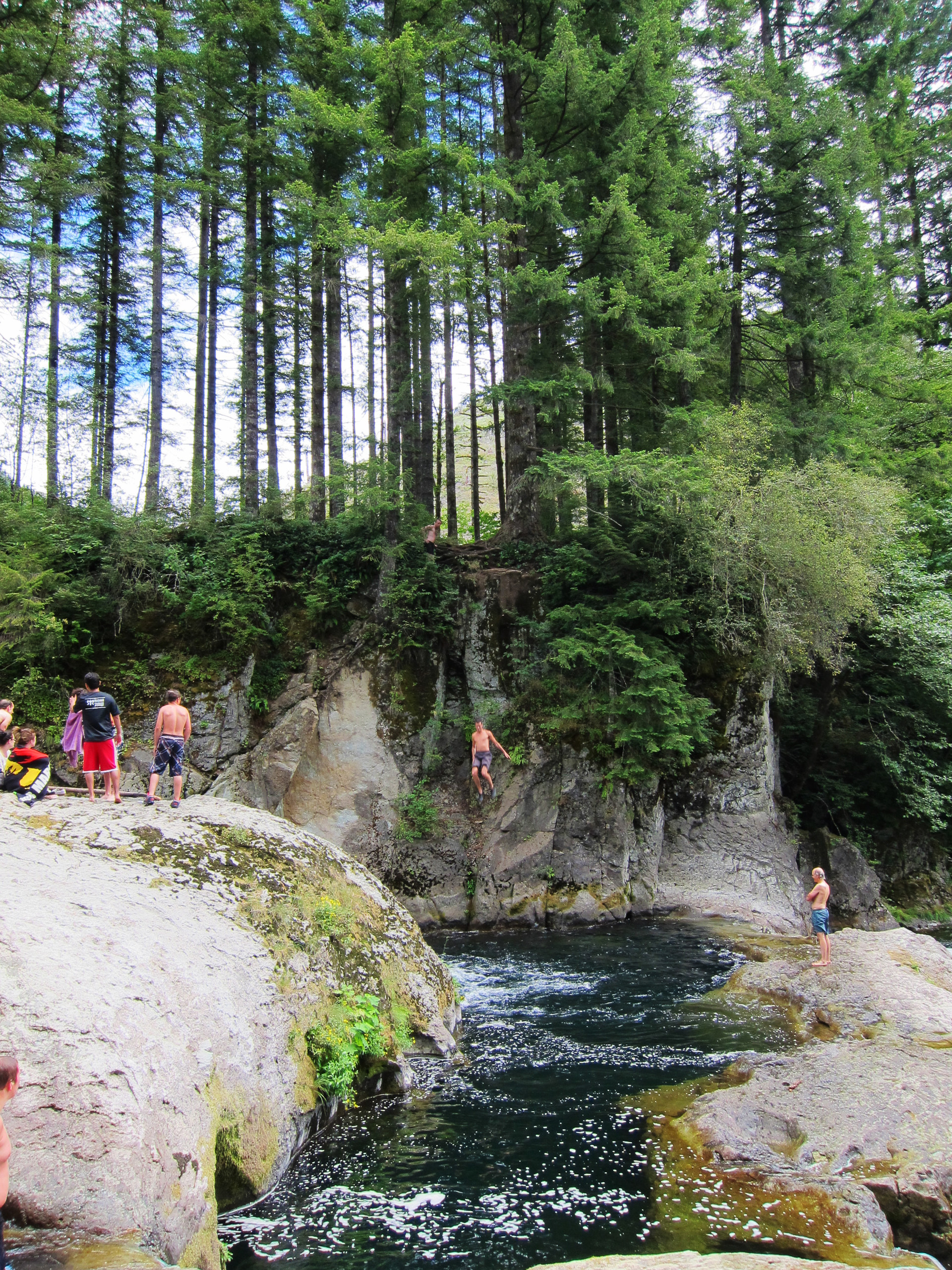 Naked Falls on the Washougal River - 1334.2KB