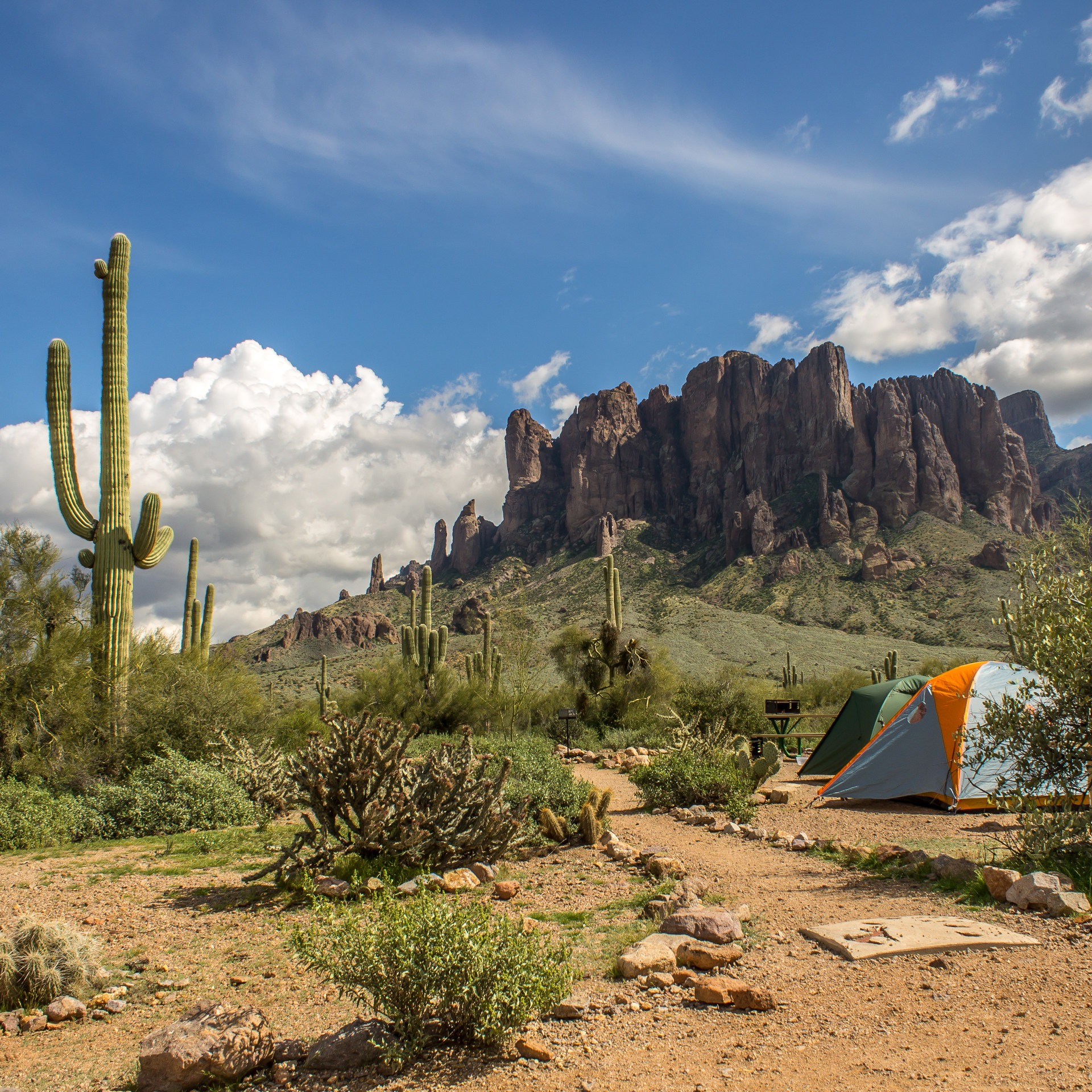 Lost Dutchman State Park Campground