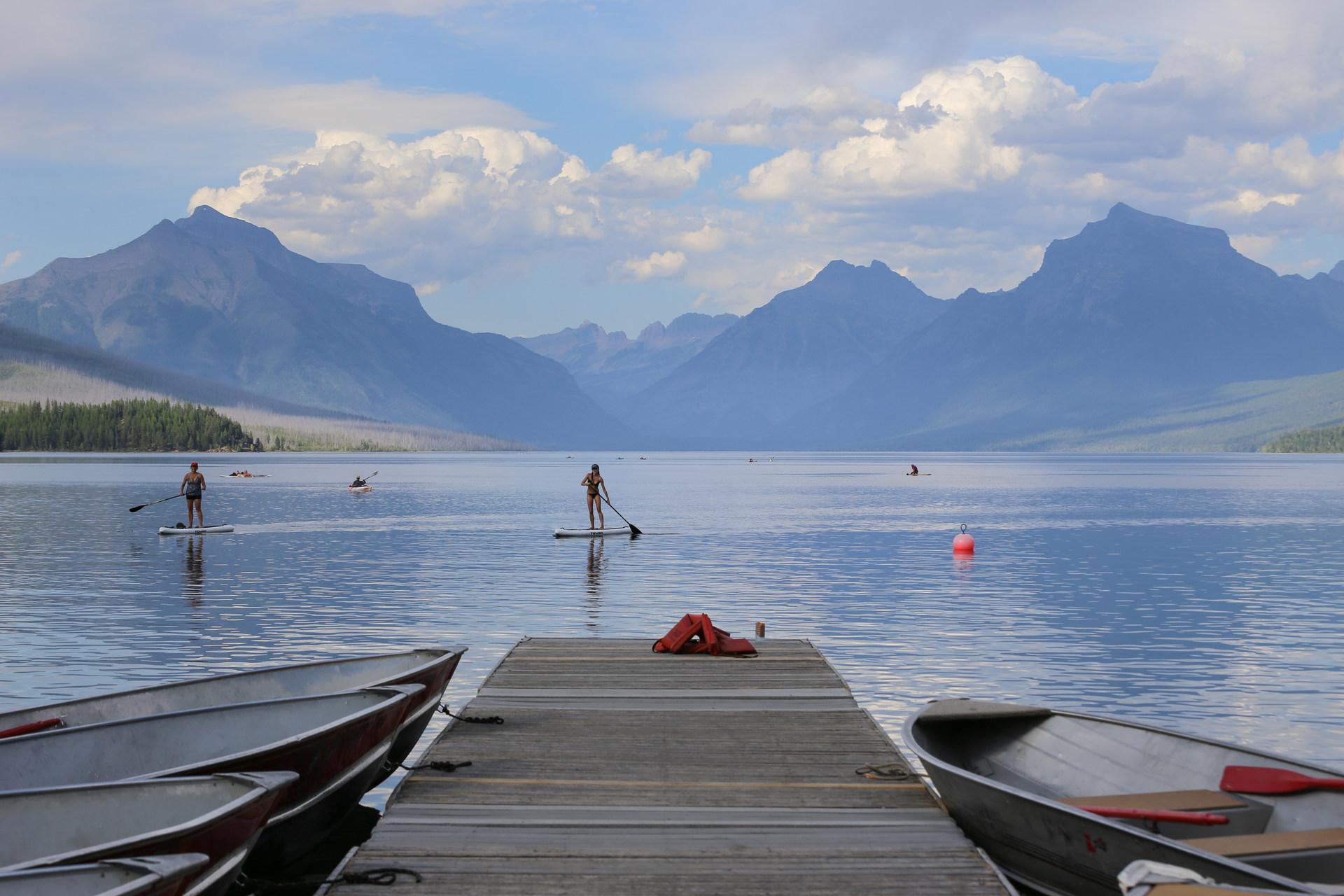 Lake McDonald Paddle