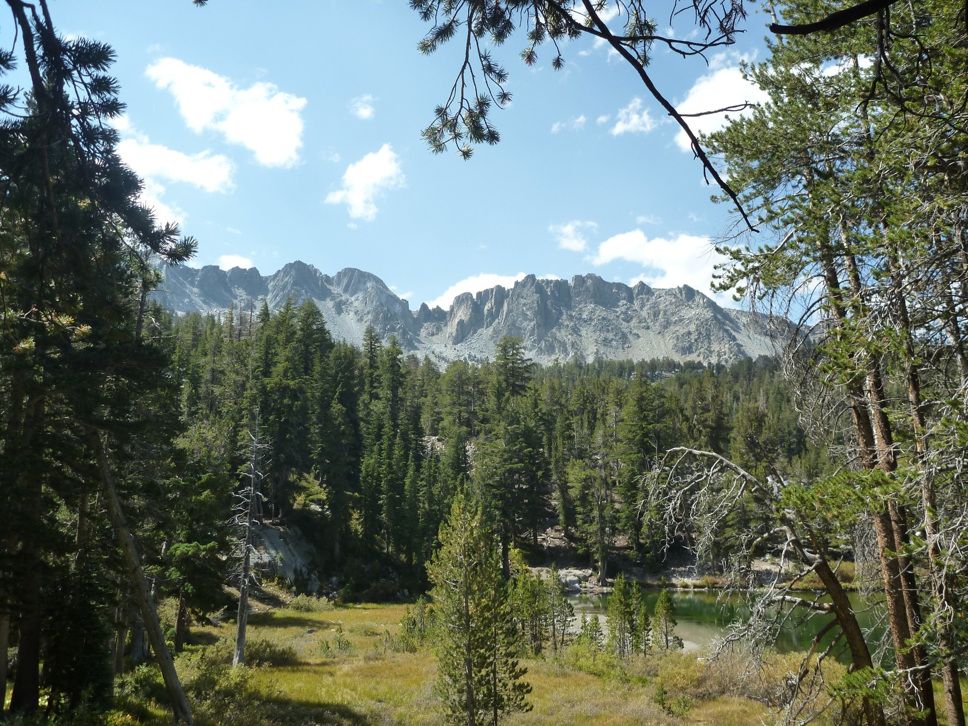emerald lake sky meadow hike outdoor project