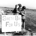 Historical photo of conservation efforts in the Bay. (Photo courtesy of Save The Bay.)- Save The Bay: A Partnership for Restoration