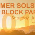 Summer Solstice Block Party, Saturday, June 21, 2014.- Summer Solstice Block Party - Join Outdoor Project and Base Camp Brewing on Saturday, June 21