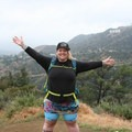 Fat Girls Hiking founder, Summer, at an L.A. Pop-up Hike. Photo courtesy of Fat Girls Hiking.- Woman In the Wild: Summer of Fat Girls Hiking