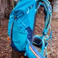 Side view featuring compression straps and hip belt pocket.- Gear Review: Kathmandu Voltai 40L Pack