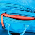 Small top pocket with security lanyard.- Gear Review: Kathmandu Voltai 40L Pack