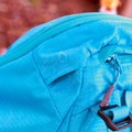 The right hydration bladder hose outlet.- Gear Review: Kathmandu Voltai 40L Pack