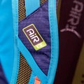 The right shoulder strap with elastic accessory straps.- Gear Review: Kathmandu Voltai 40L Pack
