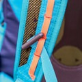 Daisy chain-style adjustable sternum strap.- Gear Review: Kathmandu Voltai 40L Pack