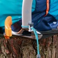 Elastic toggles on the rear daisy chain for poles or tools.- Gear Review: Kathmandu Voltai 40L Pack