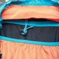 Top clip strap for hydration bladder sleeve to prevent slouching.- Gear Review: Kathmandu Voltai 40L Pack