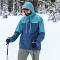 There are just two vast breast pockets.- Gear Review: Kathmandu Aysen Men's GORE-TEX Shell Jacket