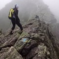 Walking the Knife Edge on Mount Katahdin in Baxter State Park near Millinocket, Maine.- Woman In The Wild: Ashley Risacher