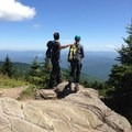 Taking in Mount Mitchell's views.- Woman In The Wild: Ashley Risacher