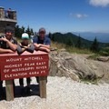 Mount Mitchell summit near Yancey, North Carolina.- Woman In The Wild: Ashley Risacher