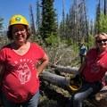 Proud Bold Betties.- The Bold Betties: Idaho Trails Association Women's-Only Trail Maintenance