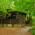 Restroom facilities- Beacon Rock State Park Campground