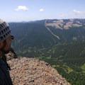 Contributor Asmund Tweto looks west over southwest Washington's Silver Star Mountain (4,364').- Table Mountain