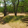 The abandoned old ranch corral - Catherine Creek Hiking Trail