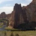 View of Smith Rock and the Crooked River.- Smith Rock, Misery Ridge Hiking Trail
