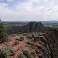 View from the top of Misery Ridge.- Smith Rock, Misery Ridge Hiking Trail