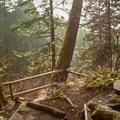 Hardy Falls viewpoint.- Hamilton Mountain Hike