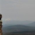 View across the rim with Mount Jefferson on the left and Black Butte on the right.- Tam McArthur Rim Hike
