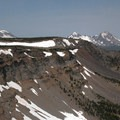 View of the rim and the Three Sisters.- Tam McArthur Rim Hike