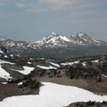 View of the Three Sisters.- Tam McArthur Rim Hike