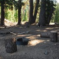 "Backcountry camping site ""1"", one of three backcountry sites.- Todd Lake Hike"