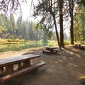 Slough Day Use Area along the Deschutes River Trail, Upper Reach.- Deschutes River Trail, Upper Reach Hiking Trail
