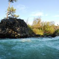 Deschutes River, Big Eddy.- Deschutes River Trail, Upper Reach Hiking Trail