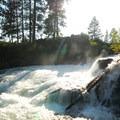 Deschutes River, Dillon Falls.- Dillon Falls