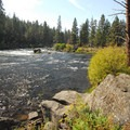 Deschutes River, South Canyon Reach.- Deschutes River Trail, South Canyon Reach