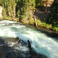 Deschutes River, Benham Falls.- Benham Falls