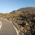 Interpretive trail through 7,000 year-old lava field and Lava Butte (5,023').- Lava Butte, Trail of the Molten Land