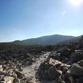 Big Obsidian Flow's interpretive trail.- Big Obsidian Flow Interpretive Trail
